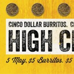 DEAL: Guzman Y Gomez – $5 Burritos & Coronas on 5 May 2017 (Cinco De Mayo)