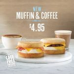 DEAL: Hungry Jack's $4.95 Muffin & Coffee