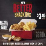 DEAL: Hungry Jack's – $3.95 6 Nuggets and Large Thick Cut Chips