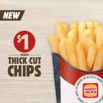 DEAL: Hungry Jack's $1 Chips (starts 1 August 2017)