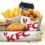 DEAL: KFC $5 Popcorn Lunch (Popcorn Chicken, Wicked Wing, Chips, Potato & Gravy, Drink) – starts 26 October