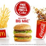 DEAL: McDonald's Free Small Fries & Coke with Big Mac or Quarter Pounder purchase (starts 15 February 2017)