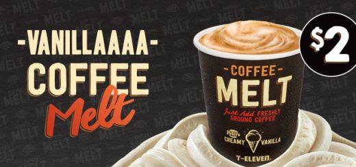7-Eleven $2 Vanilla Coffee Melt