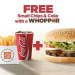 DEAL: Hungry Jack's Free Small Chips & Coke with a Whopper