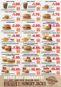 Hungry Jacks Vouchers valid until 13 March 2017 v3