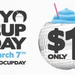 DEAL: 7-Eleven – $1 Slurpee BYO Cup Day (7 March 2017)