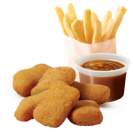 DEAL: Red Rooster – 6 Cheesy Nuggets, Chips & Gravy for $5