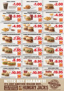 Hungry Jacks Vouchers 1 May 2017