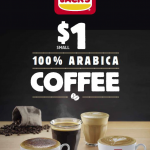 DEAL: Hungry Jack's $1 Small Arabica Coffee