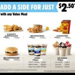 DEAL: Hungry Jack's $2.50 Sides with Value Meal (Chicken Fries, 6 Nuggets, Storm, Sundae, Onion Rings, BBQ Cheeseburger)