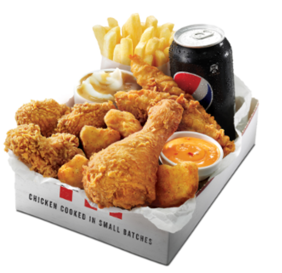 DEAL: KFC $12.95 Hunger Buster Box (4 Nuggets, 3 Wicked