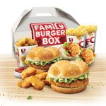 DEAL: KFC $25.95 Family Burger Box (2 Burgers, 2 Twisters, 2 Large Chips, 6 Nuggets & Popcorn Chicken)