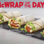 DEAL: McDonald's $5 Wrap of the Day