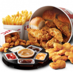 DEAL: KFC $25.95 Dipping Bucket (12 Nuggets, 8 Tenders, Popcorn Chicken & more)