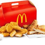 NEWS: McDonald's Chicken Sides Box (10 Nuggets, 3 Tenders, 3 Sauces)