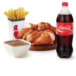 DEAL: Red Rooster – $26.99 Chicken, Large Chips, Large Gravy & 1.25L Coke Delivered