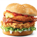 NEWS: KFC Zinger Mozzarella Burger