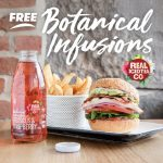 DEAL: Grill'd – Free Botanical Infusions Iced Tea with Burger or Salad purchase