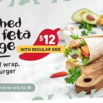 DEAL: Nando's – $12 Smashed Avo & Feta and Regular Side