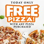 DEAL: Domino's Buy One Get One Free Pizzas (September 24)