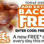 DEAL: Domino's Free Extra Bacon on Pizza (October 15)