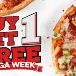 DEAL: Domino's Buy One Get One Free Pizzas (October 16 to 25 – Mega Week)