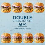 DEAL: Ribs & Burgers – $6 Double Cheeseburger (Normally $10)