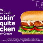 NEWS: Subway Smokin' Mesquite Chicken with Sour Cream