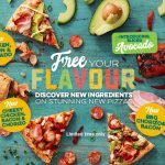 NEWS: Domino's New Pizzas with Sliced Avocado and Chorizo (starting December 11)