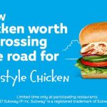 NEWS: Subway Homestyle Chicken Sub