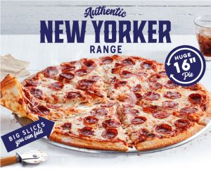 Domino's New Yorker Pizzas