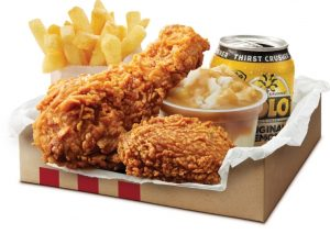 KFC $5 Hot and Spicy Lunch
