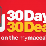 DEAL: McDonald's – 30 Days 30 Deals (November 2020)