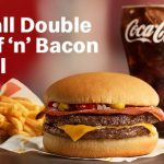 DEAL: McDonald's – $4.95 Small Double Beef 'n' Bacon Burger Meal