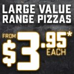 DEAL: Domino's – $3.95 Large Value Pizza (25 July 2020)