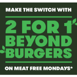 DEAL: Grill'd – 2 For 1 Beyond Burgers on Mondays (Relish Members)