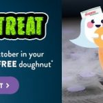 DEAL: Krispy Kreme – Free Original Glazed Doughnut When You Dress in Costume on Halloween (31 October 2020)