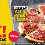 DEAL: Domino's $5 Cheaper Everyday Menu – $5 Back on All Value Range Pizzas & Sides
