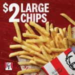 DEAL: KFC $2 Large Chips with App