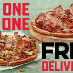 DEAL: Domino's – Buy One Get One Free Pizzas Delivered at Selected Stores (9 August 2020)