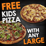 DEAL: Pizza Capers – Free Kids Pizza with Any Large Pizza + More Deals