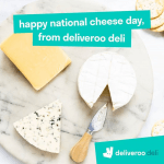 DEAL: Deliveroo – Free Cheese & Wine with Order from Deliveroo Deli (until 5 June 2020)