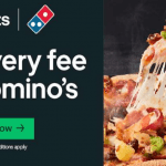 DEAL: Domino's – Free Delivery via Uber Eats