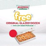 DEAL: Krispy Kreme – Free Original Glazed Dozen with Any Dozen Purchase (14-20 July 2020)