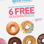 DEAL: Krispy Kreme South Australia – 6 Free Doughnuts with Any Dozen Purchase (15 July 2020)