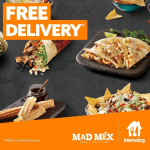 DEAL: Mad Mex – $5 off with $25+ Spend via Menulog (11am to 1pm Monday to Thursday)