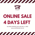 DEAL: Muffin Break – Free Shipping until 13 July 2020