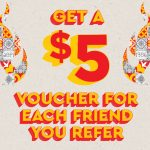 DEAL: Oporto – $5 off Welcome Voucher for New Flame Rewards Members