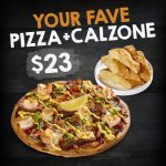 DEAL: Pizza Capers – Large Capers Collection Pizza and Calzone Bread $23 Pickup + More Deals