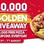 NEWS: Pizza Hut is Giving Away 50,000 Free Pizzas from 3-7 August 2020